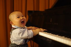 I really like playing piano