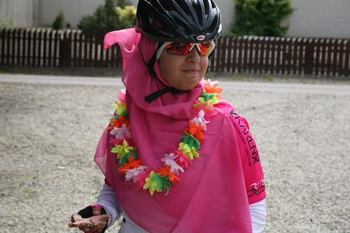 Cycling for a good cause 1