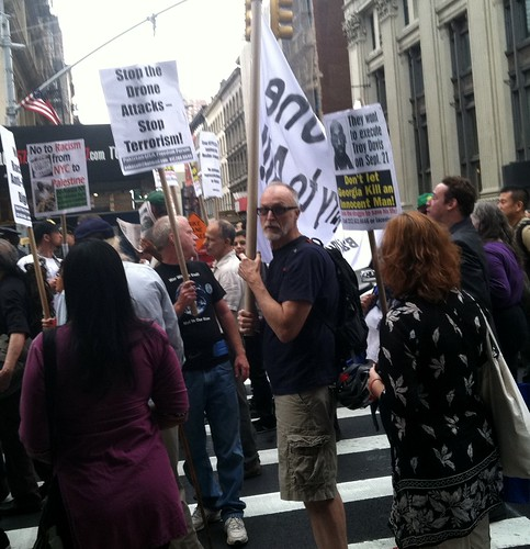 Protests against US Imperialism and Violence on 9/11/11