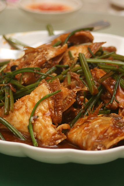 Trigger Fish (Ti Kia) with Bean Sauce