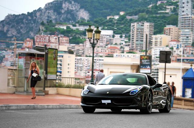 montecarlo monaco 2011 ferrari458italia marleton marleton93