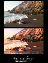 Washed Up Before/After (karissa_lynne) Tags: ocean life california sunset sea portrait woman colors girl beauty up self hope warm bright starfish tide fear faith aaron dream dreaming change isolation lonely strength washed difficult sel pacifica hue nace lonliness separation phlearn