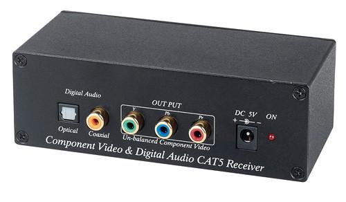 TRC245 - Component Video (Y/Pb/Pr) & Digital Audio CAT5 Extender
