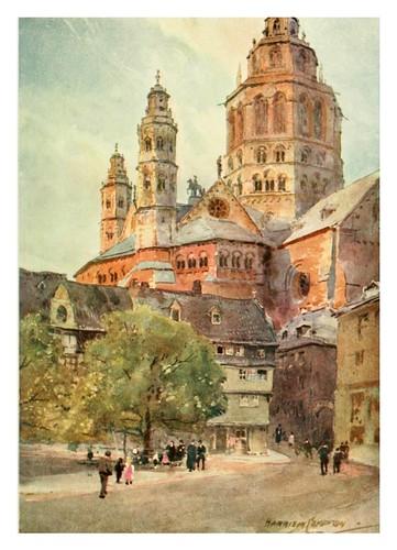 013-Catedral de Mayence-Germany-1912- Edward y Theodore Compton ilustradores