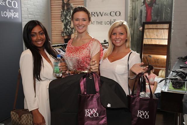 Melinda Shankar, Samantha Munro and Jessica Tyler
