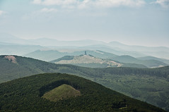 View to Shipka from Buzludzha (Nedko) Tags: sky mountain monument nature hills bulgaria far shipka buzludzha  buzludja