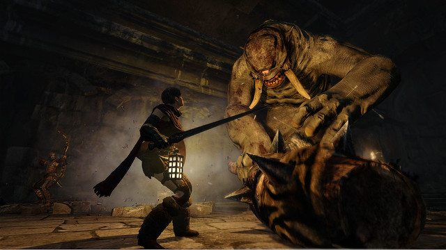 Shoot A Cyclops In Its One Eye In New Dragon's Dogma TGS Trailer (12)