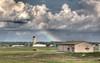 BNA rainbow (Ben Spalding) Tags: hdr nashvilleairport countrylandscapes