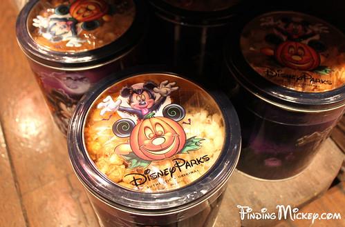 Halloween Time popcorn tins