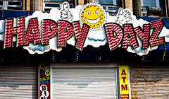 Happy Dayz!! (ChrisJohnston82) Tags: street sun sign shop writing canon pier letters prom promenade canoneos blackpool let shopfront blackpoolpleasurebeach 400d canoneos400d canon400d