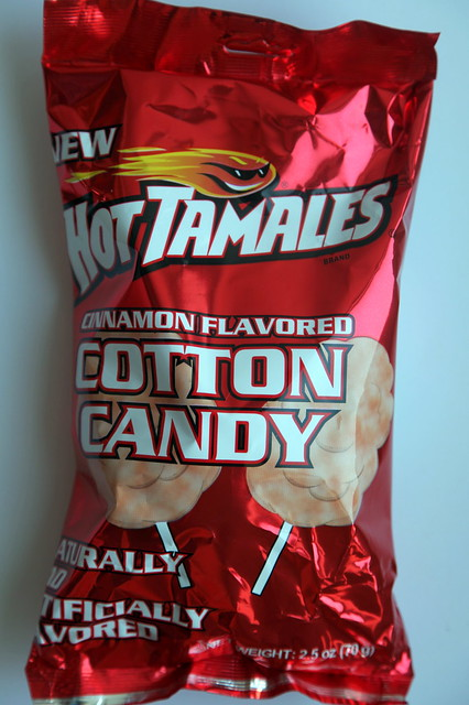 Hot Tamales Cotton Candy