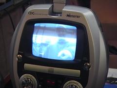 Paul on the Karaoke Machine