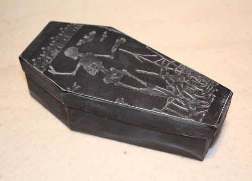 Coffin Treat Box