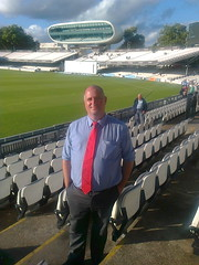 Dave at Lords