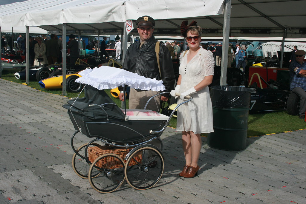 Period Dress Including The Silver Cross Supermac1961 Tags Westsussex Posing 1950s Goodwood Pram