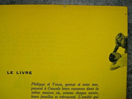 Colette (Sidonie-Gabrielle), Le blé en erbe; Club des éditeurs, (Flammarion), Paris 1956. p. 7 (part.), 1