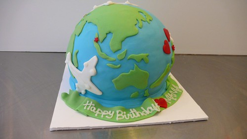 World Cake by CAKE Amsterdam - Cakes by ZOBOT