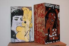 FAILE - boxes (lukwam) Tags: california ca venice stencils bunny art girl graffiti faile post bills no boxes postnobills abbotkinney abbot kinney