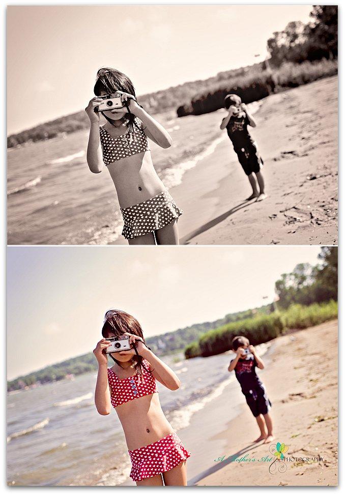 beach day diptych 2