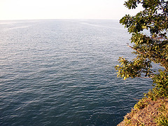 Lake Erie (MtnBkr2009) Tags: sunset beach nature outdoors lakeerie mountainbike trail mountainbiking singletrack