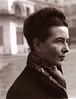 "Simone de Beauvoir por Henri Cartier-Bresson • <a style=""font-size:0.8em;"" href=""http://www.flickr.com/photos/63900410@N03/6026475940/"" target=""_blank"">View on Flickr</a>"