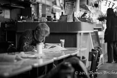 Saturday Morning Coffee (tom911r7) Tags: sanfrancisco california street leica bw photography san francisco thomas f14 streetphotography 75 trieste m9 caffee brichta tom911r7 thomasbrichta 75f14 akademiejuly11sf leicaakademiejuly11sf triestecaffee