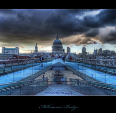 Millennium Bridge at Dusk (palashmitter) Tags: uk blue london stpauls bridges millenniumbridge hdr dda wow1 wow2 wow3 wow4 wow5 impressedbeauty doublyniceshot tripleniceshot mygearandme mygearandmepremium mygearandmebronze mygearandmesilver mygearandmegold mygearandmeplatinum dblringexcellence tplringexcellence artistoftheyearlevel3 bridgesonthames flickrstruereflection1 flickrstruereflection2 eltringexcellence