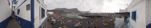 Playa y Puerto de las Nieves, Agaete, Isla de Gran Canaria
