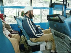 P1030295 Osama Bin laden was in our bus too ... you thought he was dead and gone! (ks_bluechip) Tags: india manali rohtangpass himachal keylong