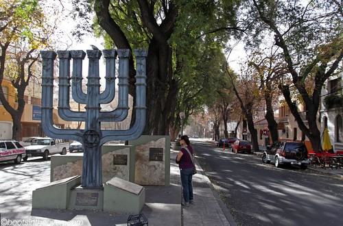 Jewish monument, Mendoza