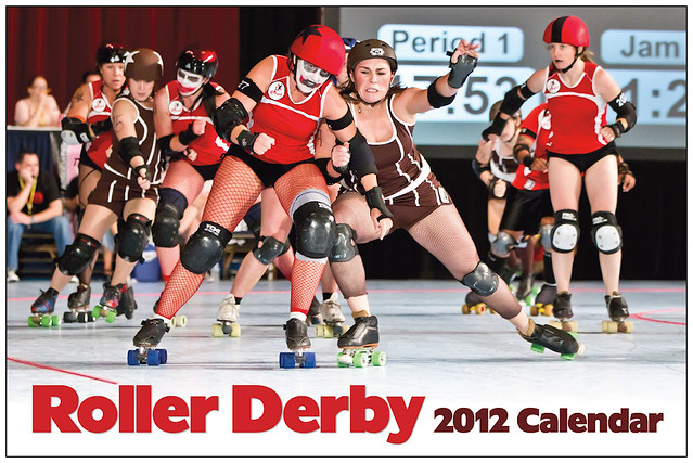 Buy the Roller Derby 2012 Wall Calendar from Amazon.com