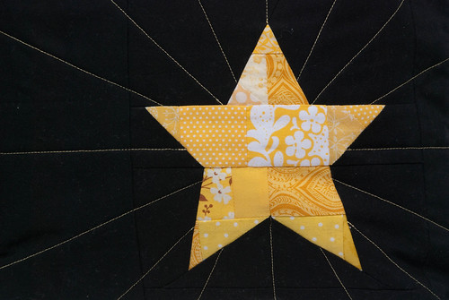 yellow star pillow-2