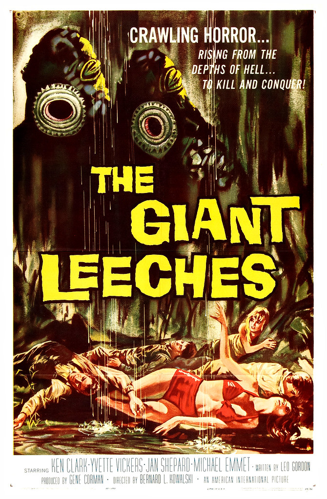 The Giant Leeches (American International, 1959) One Sheet
