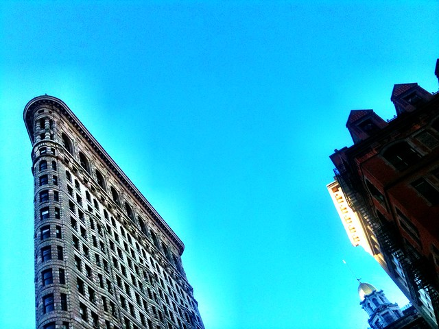Flatiron Building #walkingtoworktoday