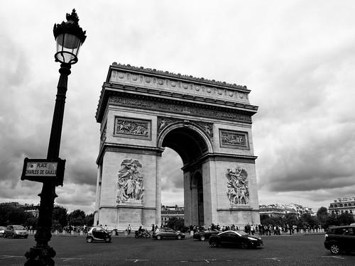 Arco del triunfo by treboada