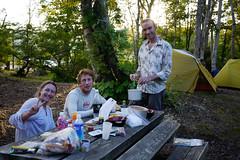 Camping in Chisenupuri, Hokkaido, Japan