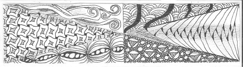 zentangle bookmark 002
