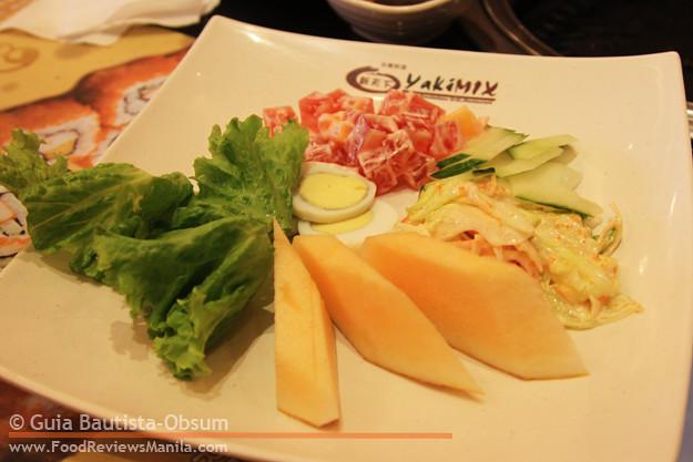 Yakimix salad