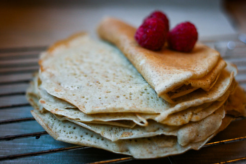 Sourdough Buckwheat Crepes