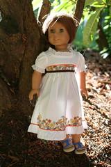 peaceful forest (basilmentos) Tags: cute girl outside doll pretty american ag felicity basilmentos