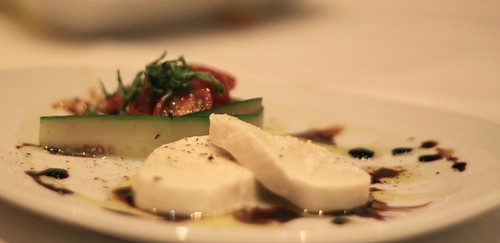 Fleming's Steakhouse - Tomato Mozzarella Salad