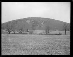 Famous Blue Hills from Stoughton Rd., Milton (Boston Public Library) Tags: massachusetts milton lesliejones