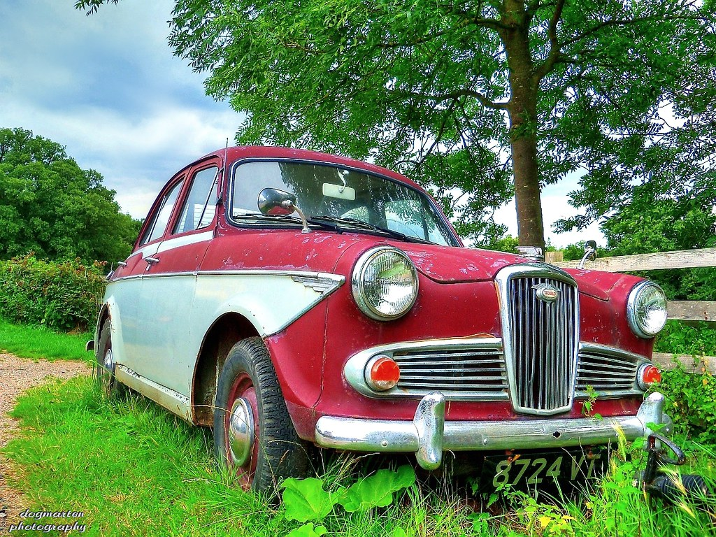Wolseley 1500 at Boxted, Essex