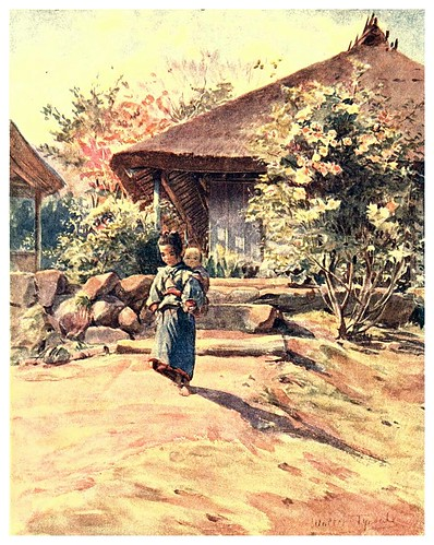 021-Casa de campo en Atami-Japan & the Japanese 1910- Walter Tyndale