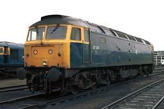 gb_840407_47001 copy (MUTTLEY'S PIX) Tags: train br rail loco brush depot ha haymarket britishrail duff sulzer 64b class47 1521 47001 originalscan d1521