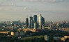 We Build This City... (Serge Freeman) Tags: city houses architecture buildings evening cityscape skyscrapers russia moscow aerial