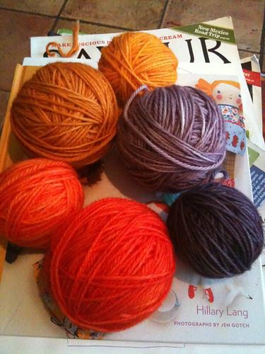 Kool aid yarn