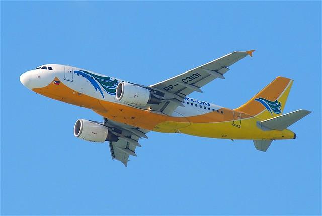 Cebu Pacific Airbus A319-112; RP-C3191@HKG;31.07.2011/614ao