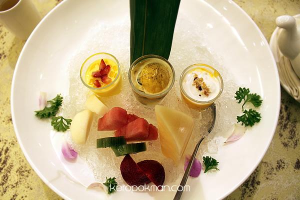 Combination Dessert Platter