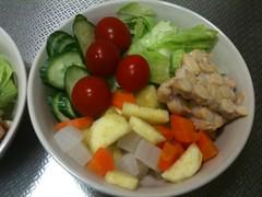 朝食サラダ(2011/8/19)